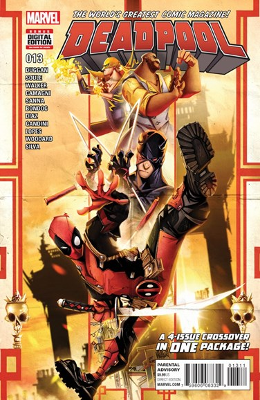 Deadpool Cover - 8/1/2016