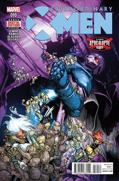 X-Men Gold Cover - 7/1/2016