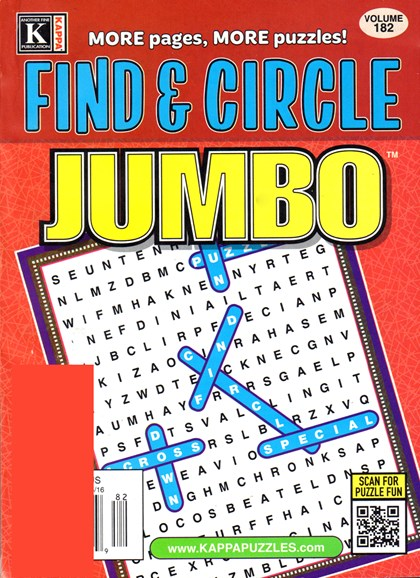 Find & Circle Jumbo Cover - 8/1/2016