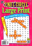 Find and Circle Large Print Magazine 9/1/2016