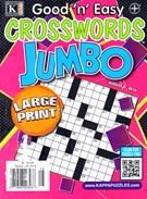 Good N Easy Crosswords Jumbo Magazine 8/8/2016