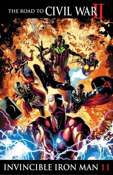 Tony Stark: Iron Man Cover - 9/1/2016