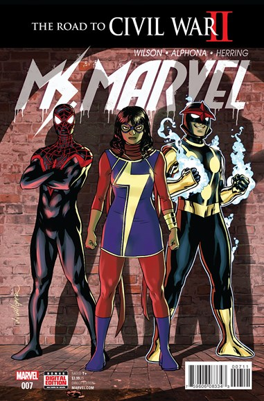 Magnificent Ms. Marvel Cover - 7/1/2016