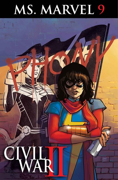 Magnificent Ms. Marvel Cover - 9/1/2016