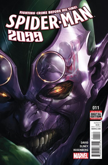 Spider-Man 2099 Cover - 8/1/2016