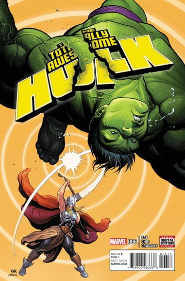 Immortal Hulk Cover - 7/1/2016