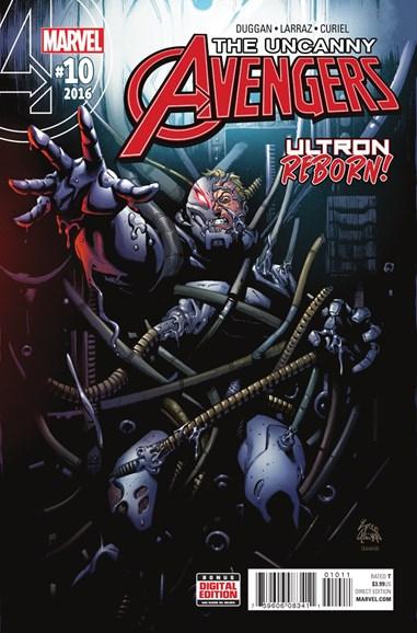Uncanny Avengers Cover - 8/1/2016