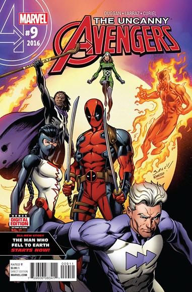 Uncanny Avengers Cover - 7/1/2016