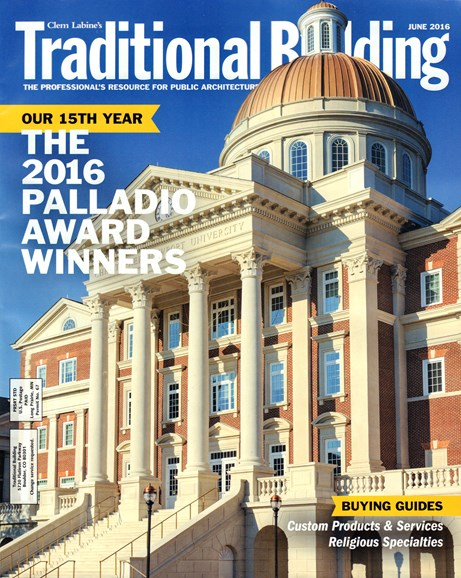 Traditional Building Cover - 6/1/2016