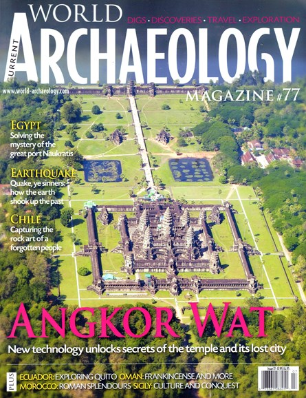 Current World Archaeology Cover - 6/1/2016