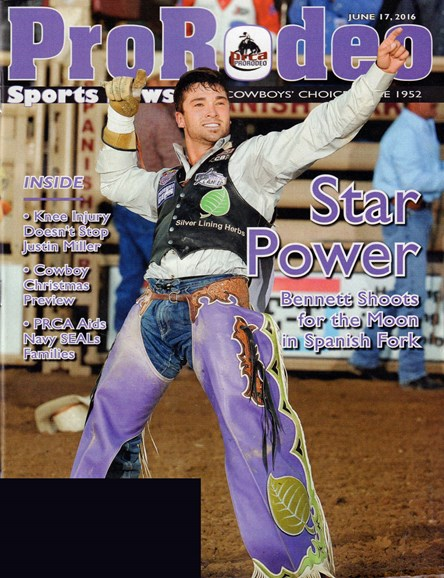 Pro Rodeo Sports News Cover - 6/17/2016