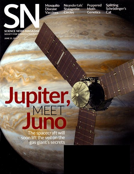 Science News Cover - 6/25/2016