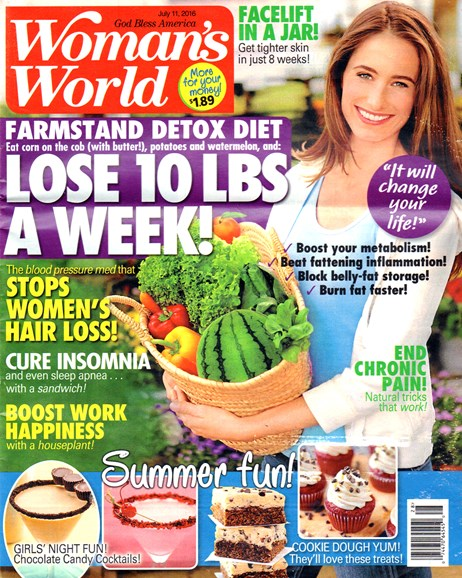 Woman's World Cover - 7/11/2016
