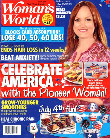 Woman's World Cover - 7/4/2016