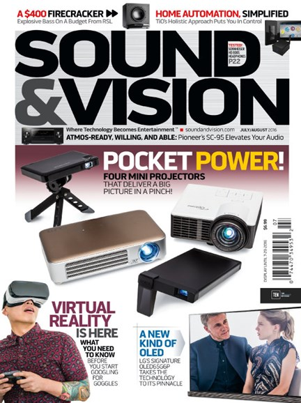 Sound & Vision Cover - 7/1/2016