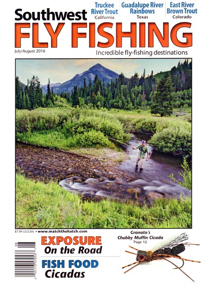 Southwest Fly Fishing Cover - 7/1/2016