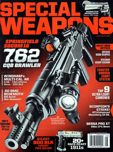 Special Weapons for Military & Police Cover - 7/1/2016
