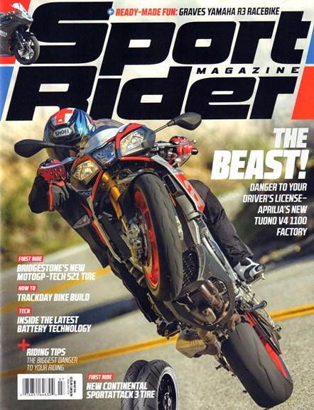 Sport Rider Cover - 7/1/2016