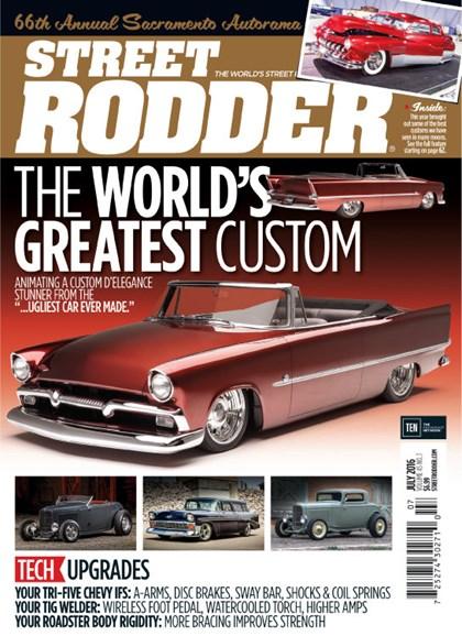 Street Rodder Cover - 7/1/2016