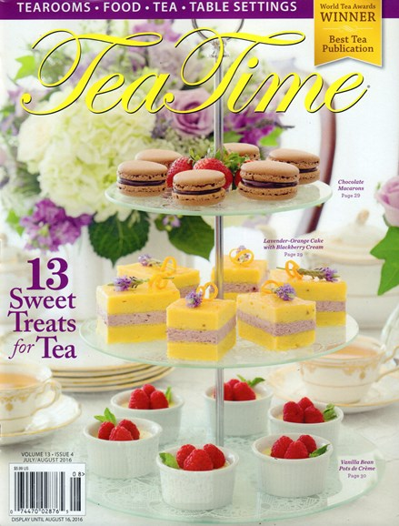 Tea Time Cover - 7/1/2016