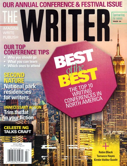 The Writer Cover - 7/1/2016