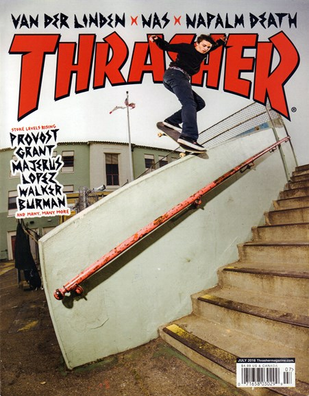 Thrasher Cover - 7/1/2016