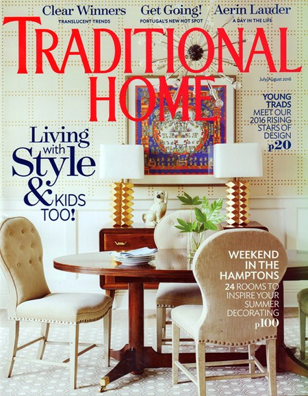 Traditional Home Cover - 7/1/2016