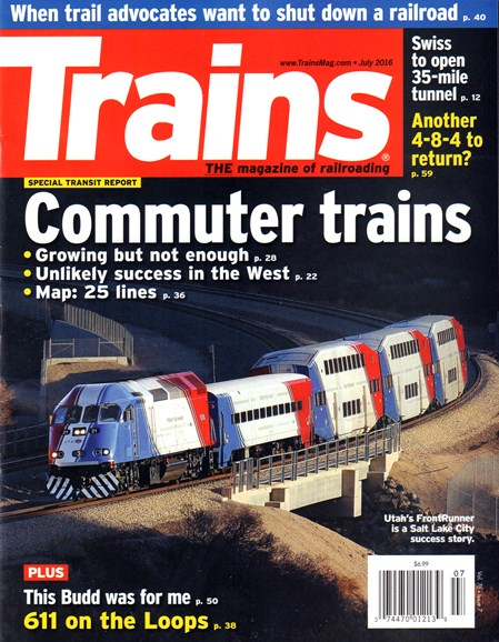 Trains Cover - 7/1/2016