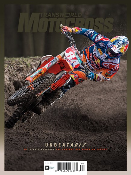 Transworld Motocross Cover - 7/1/2016