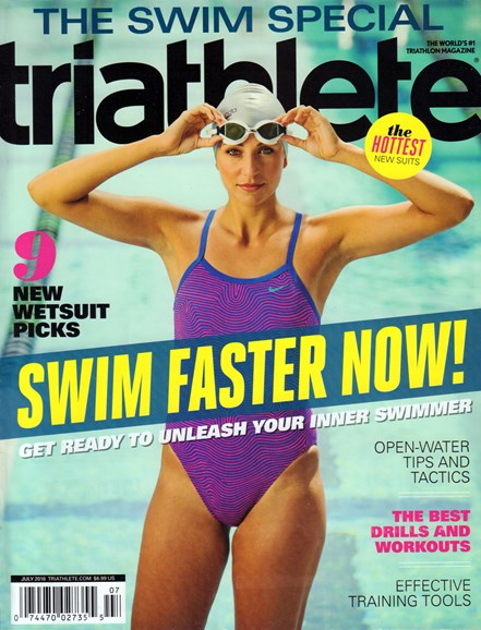 Triathlete Cover - 7/1/2016