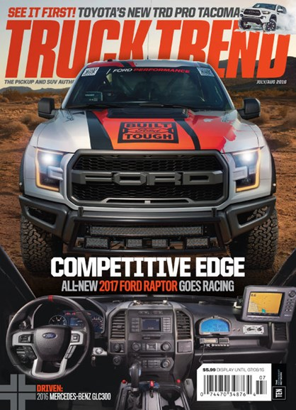 Truck Trend Cover - 7/1/2016