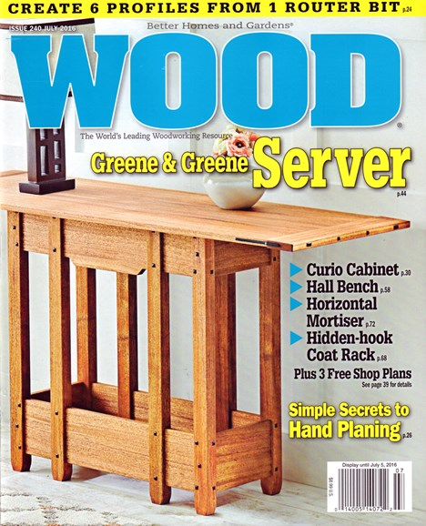 Wood Cover - 7/1/2016