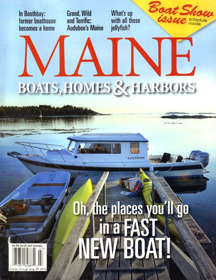 Maine Boats, Homes & Harbors Cover - 7/1/2016
