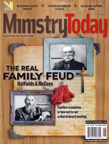 Ministry Today Cover - 7/1/2016