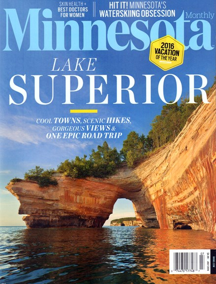 Minnesota Monthly Cover - 7/1/2016