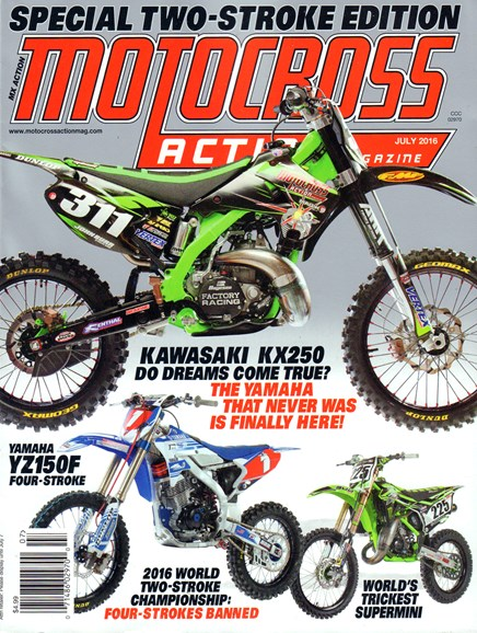 Motocross Action Cover - 7/1/2016