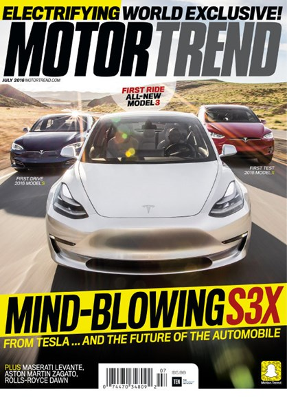 Motor Trend Cover - 7/1/2016