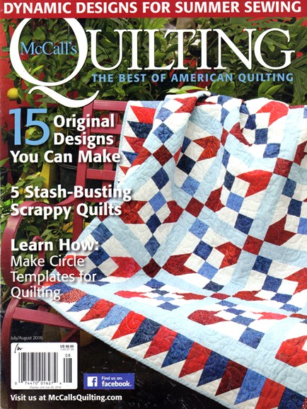 McCall's Quilting Cover - 7/1/2016