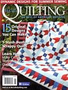 Mccall's Quilting Magazine 7/1/2016