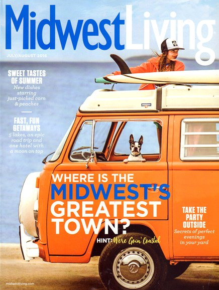 Midwest Living Cover - 7/1/2016