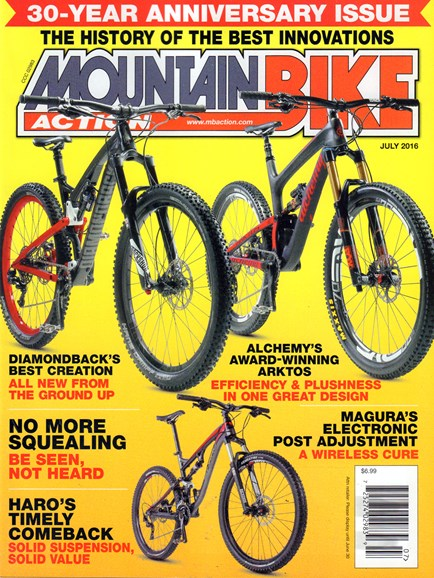 Mountain Bike Action Cover - 7/1/2016