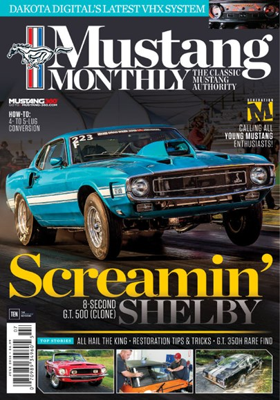 Mustang Monthly Cover - 7/1/2016