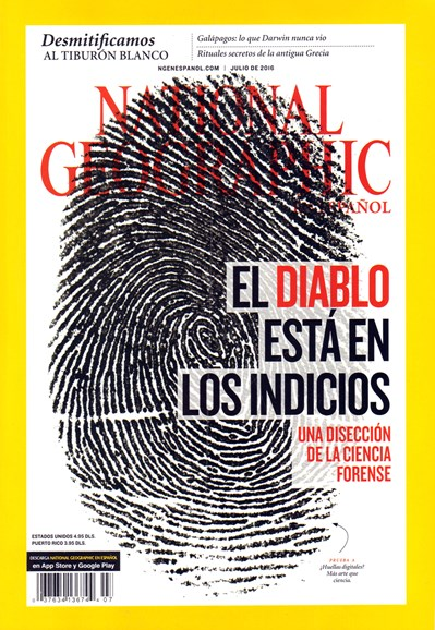 National Geographic En Español Cover - 7/1/2016