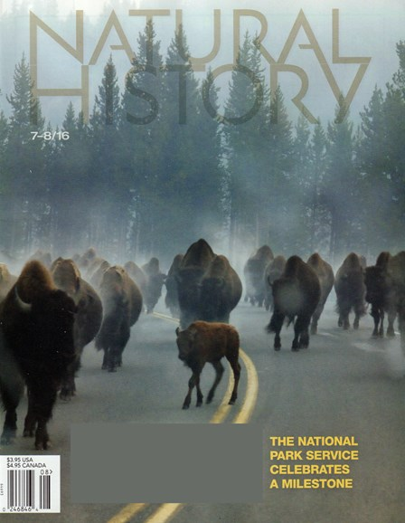 Natural History Cover - 7/1/2016