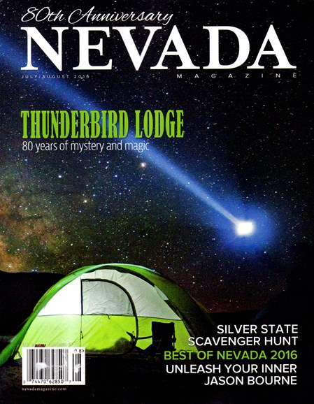 Nevada Magazine Cover - 7/1/2016