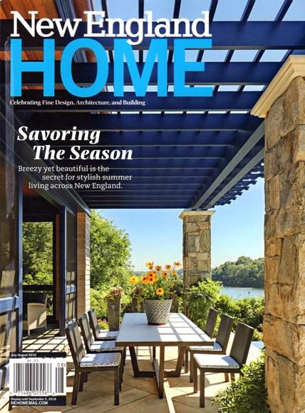 New England Home Cover - 7/1/2016