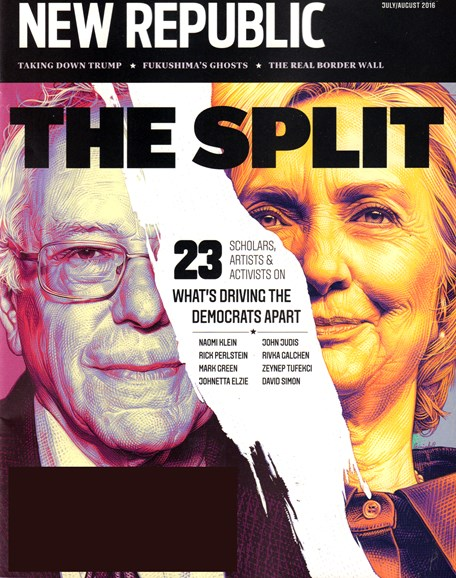 The New Republic Cover - 7/1/2016