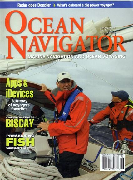 Ocean Navigator Cover - 7/1/2016