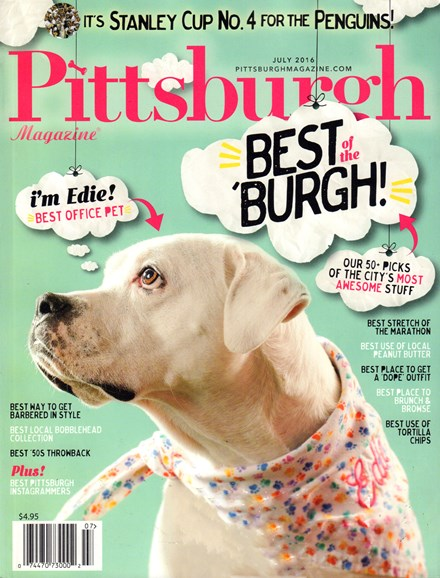 Pittsburgh Magazine Cover - 7/1/2016