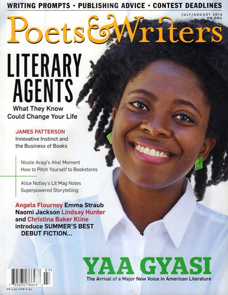 Poets & Writers Cover - 7/1/2016